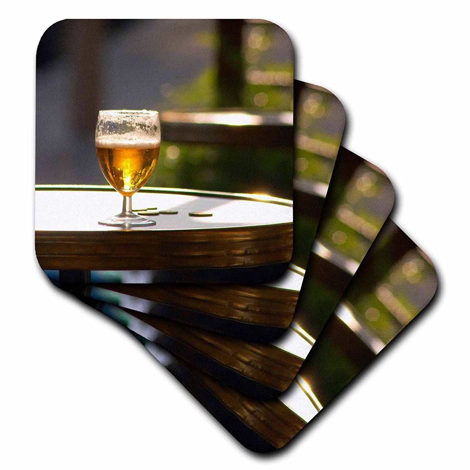 Set of 8 Vienne 3dRose cst/_81547/_2 Beer France Eu09 PKA0063 Per Karlsson Soft Coasters Table Isere Isere