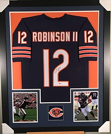 the best attitude d179f 697e6 Allen Robinson Chicago Bears Autographed Signed Framed ...