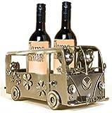 CAMPERVAN - Handmade Metal Recycled Wine Bottle Holder