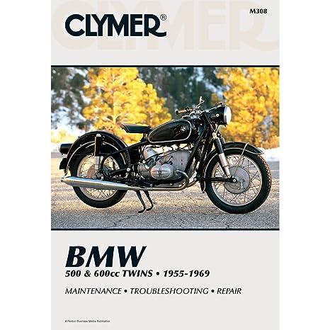 amazon com clymer bmw 500 600 twins manual m308 automotive rh amazon com clymer manuals bmw f650 clymer manuals bmw k1200rs