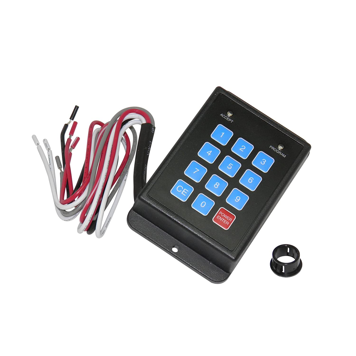 12-120 VDC up to 99 adjustable user and 1 supervisor code TOTALSOURCE 3661343007544 Programmable security safe-t-lock