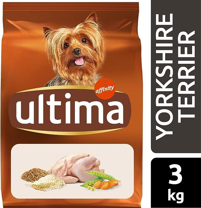 Ultima Pienso para Perros Yorkshire Terrier con Pollo - 3 kg