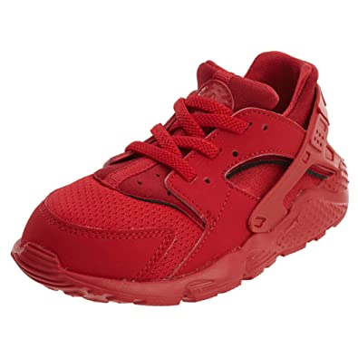 266a5630e5 Nike Huarache Run Todder's Shoes University Red/University Red 704950-600  (2 M