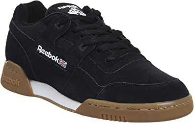 Reebok Classics Baskets Workout Plus EG Noir Blanc Homme