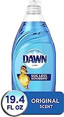 Dawn Dish Soap Ultra Dishwashing Liquid, Original Scent, 19.4 fl oz (Packaging May Vary)