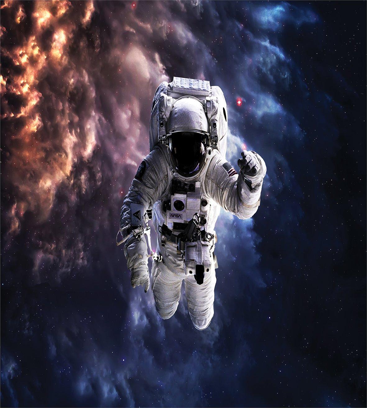 Amazon.com: Astronauta Juego de funda nórdica by ambesonne ...