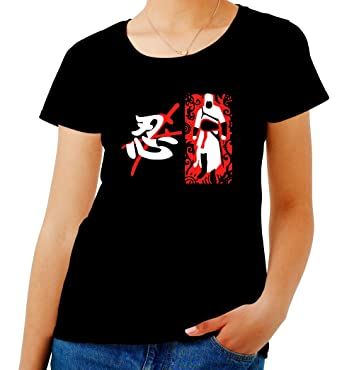 T-Shirtshock - T-shirt para las mujeres TAM0119 last ninja ...