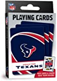 "MasterPieces NFL Houston Texans Playing Cards,Blue,4"" X 0.75"" X 2.625"""