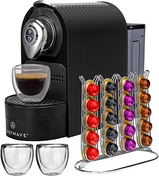 Amazon.com: ChefWave Mini máquina de espresso – Compatible ...