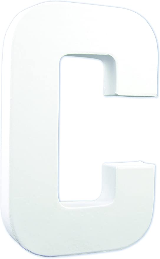 /Letra U/ Decopatch/ /Color Blanco
