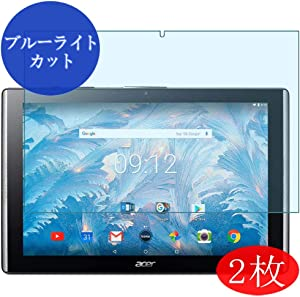 ?2 Pack? Synvy Anti Blue Light Screen Protector for Acer Iconia One 10 B3-A40 10.1