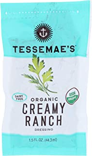 product image for Tessemae's, Dressing Creamy Ranch Dairy Free Organic, 1.5 Fl Oz