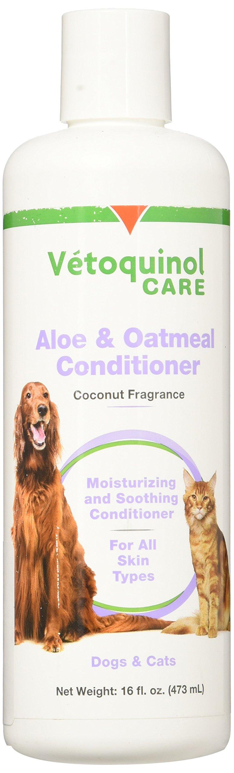 Vetoquinol Aloe and Oatmeal Conditioner, 16 oz