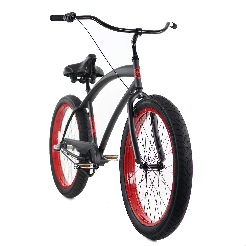 Zycle Fix ZF Bikes Cobra Series 26 Beach Cruiser Bicycle