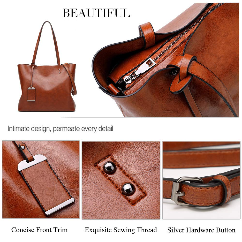 ALARION Women Top Handle Satchel Handbags Shoulder Bag Messenger Tote Bag  Purse 000e258dd4