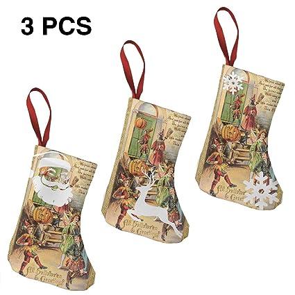 Victorian Christmas Stockings.Amazon Com Halloween Pumpkin Clown Victorian Christmas