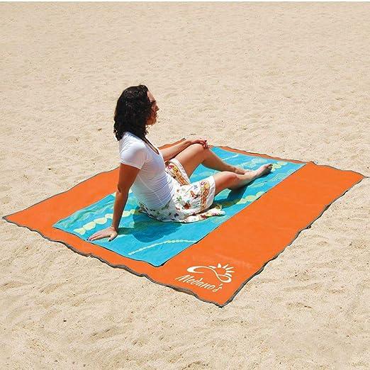 Amazon.com: Medanos - Manta de playa sin arena, a prueba de ...