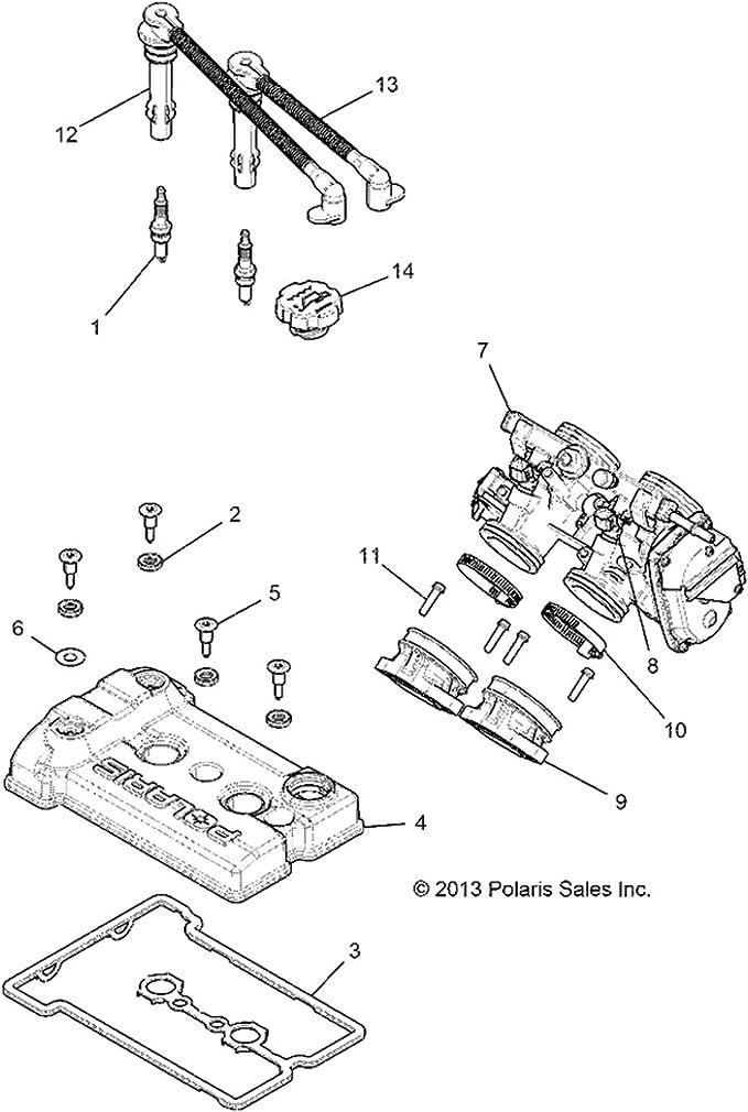 Polaris RZR XP 1000 RS1 Intake Boot 2014-20 Throttle Body Adapter 1205302