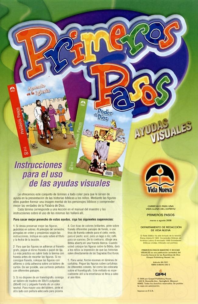 Primeros Pasos Ayudas Visuales (Spanish Edition ...