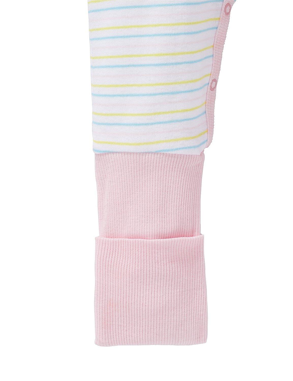 M/ädchen Schlafanzug Einteiler Anzug mit Vario Fu/ß 161244 Schiesser Baby
