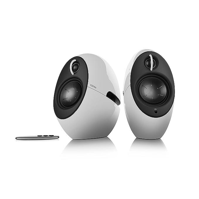 EDIFIER Luna E25 Design-Lautsprecherset mit Bluetooth (74 Watt), weiß