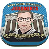 The Unemployed Philosophers Guild Ruth Bader Ginsburg's Judgmints - 1 Tin of Mints