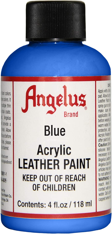 Angelus Leather Paint 4 Oz Blue