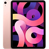 2020 Apple iPad Air (10,9 cala, Wi-Fi + Cellular, 256 GB) - Różowe Złoto (4. Generacji)