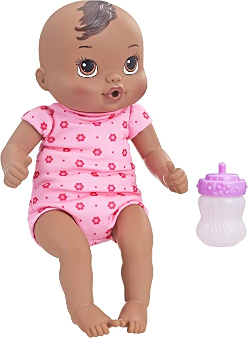 Baby Alive Doll LUV N SNUGGLE BOTTLE  Replacement Accessory Purple