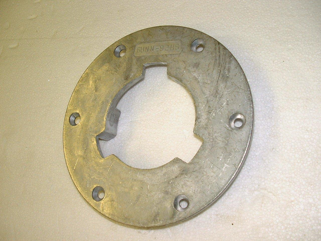 N-92 Clutchplate (aluminum) Gunn Brush Co. Inc.