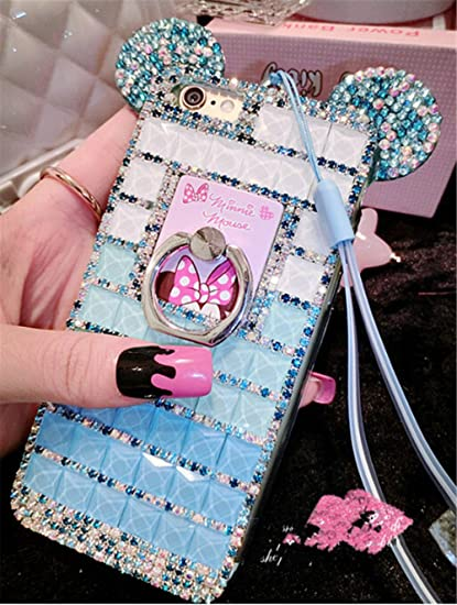 Amazon Com Bling Lg G5 Diamond Case With Chain Chanyaozy Diy