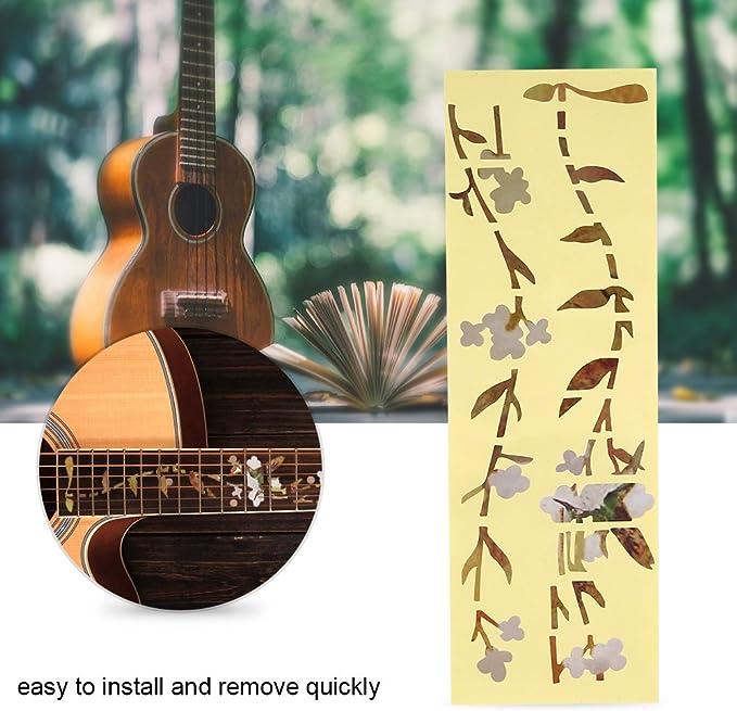 Gitarren Inlay Aufkleber Griffbrett Marker DIY Fret Decal Baum Des Lebens