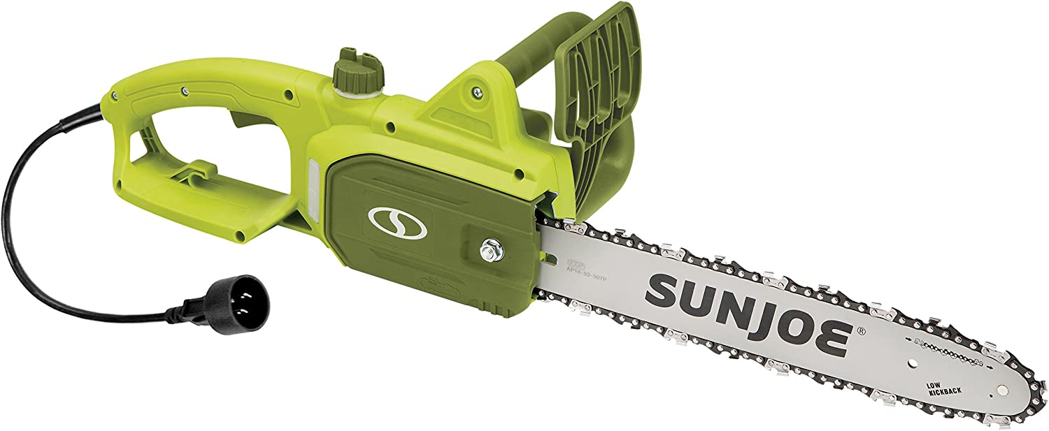 Sun Joe SWJ599E 14-inch Power Chain Saws