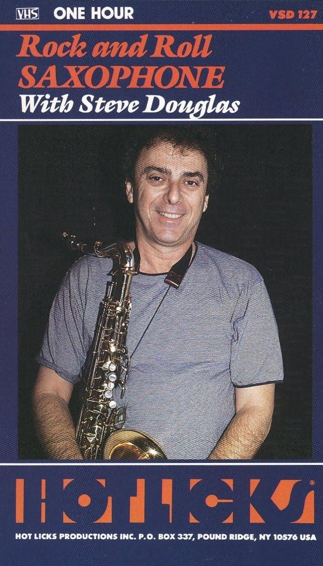 Amazon.com: Hot Licks: Rock and Roll Saxophone with Steve Douglas ...