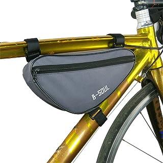 LYQ Sports Borsa per Bici Borsa Sportiva per Touch Screen da Esterno Borsa Sportiva per Touch Screen da Bici Borsa da Sella per Mountain Bike MTB Mountain (Colore : Grigio)