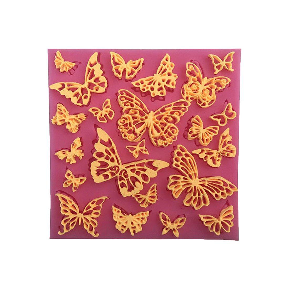 creux Forme de Papillon Fondant DIY Moule /à chocolat en silicone
