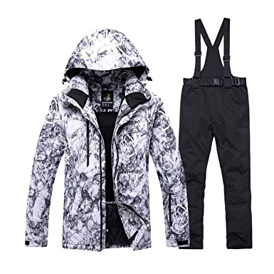 f8d168470 30 Warm Adult Snow Suit Specially Mens Snowboarding Sets Waterproof ...