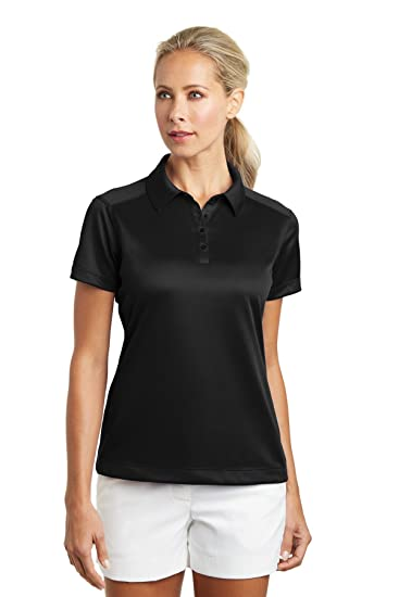 553f2c2f Amazon.com: Nike Golf - Ladies Dri-FIT Pebble Texture Polo: Clothing
