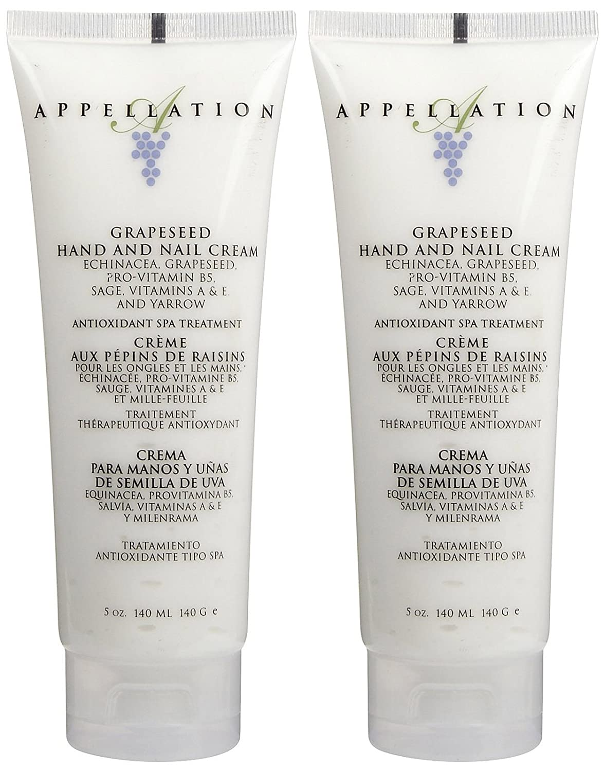 Amazon.com : California North ppellation Grapeseed Hand & Nail Cream - 5 oz - 2 pk : Beauty