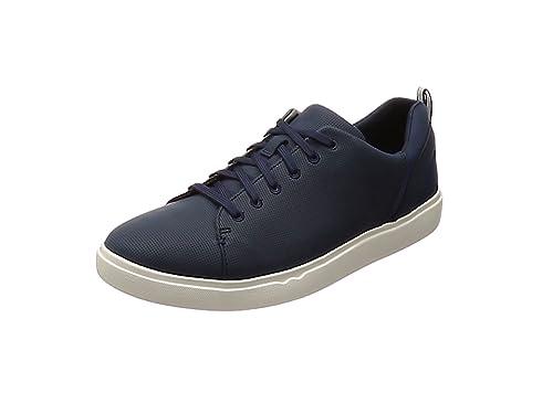 Clarks Step Verve Lo, Zapatillas para Mujer, Negro (Black), 39.5 EU