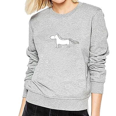 Nesee Women Girl Plus Size Sweatshirt Long Sleeve Crop Jumper Suede Pullover Tops