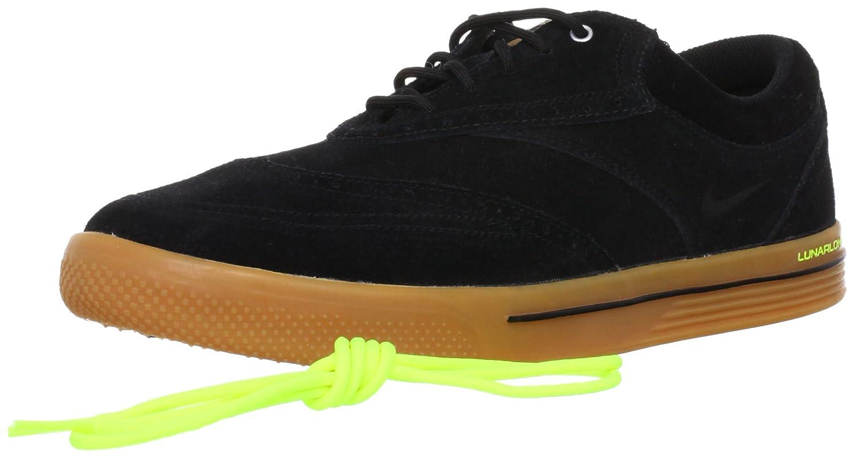 separation shoes d950c 4183c Amazon.com   NIKE Golf Men s NIKE Lunar Swingtip Suede Golf Shoe, Black Gum  Medium Brown Volt, 12 D(M) US   Golf
