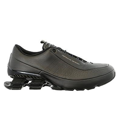 ADIDAS PORSCHE DESIGN SPORT Bounce S4 Leather Driving Fashion Sneaker Men SIZE 7
