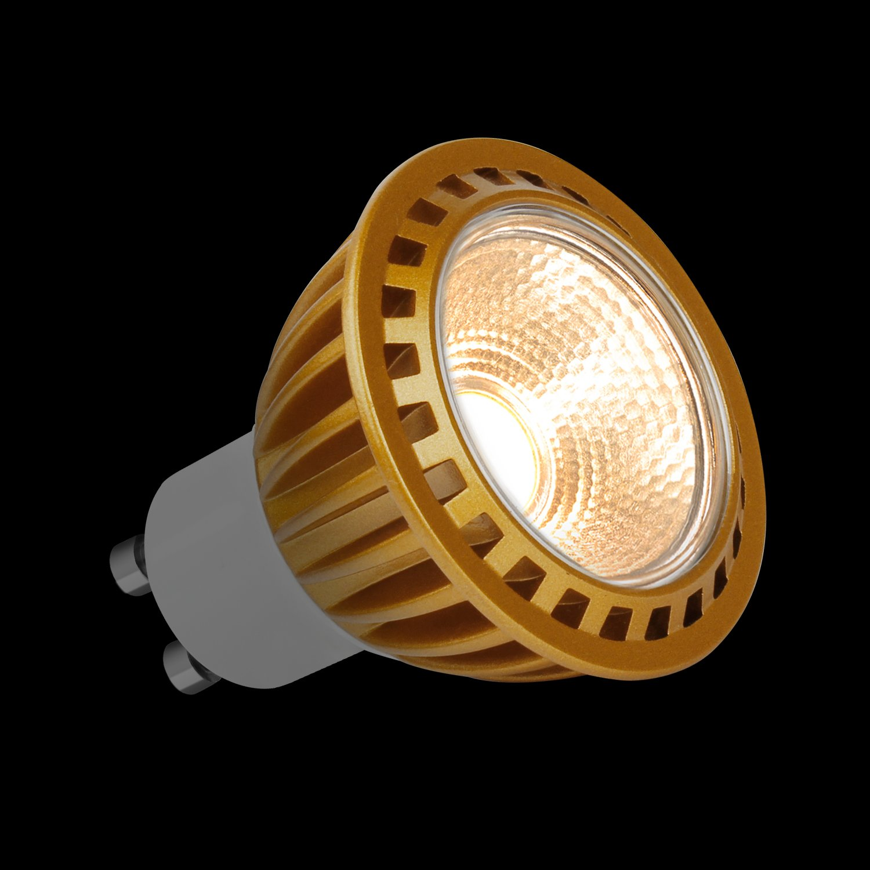 Jpodream GU10 LED Bombillas Blanco cálido 3000K, 7W COB Lámpara LED, Equivalente a 60Watt Lámpara Incandescente, 550lm, AC85-265V, 15 ° ángulo de haz, ...