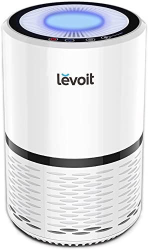 LEVOIT LV-H132 Air Purifier with True Hepa Filter with Optional Night Light, US-120V, White Renewed