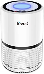 LEVOIT Air Purifier for Home Smokers Allergies and Pets Hair, True HEPA Filter, Quiet in Bedroom, Filtration System Cleaner E