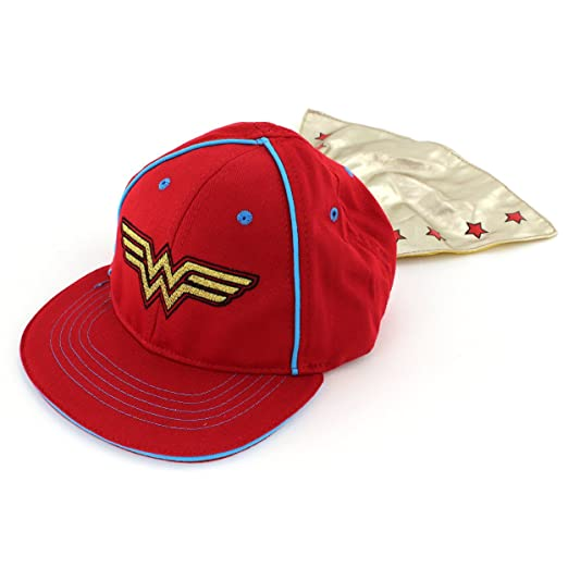 official photos 13986 66362 Image Unavailable. Image not available for. Color  DC Comics Wonder Woman  Baby Toddler Caped Baseball Cap Hat