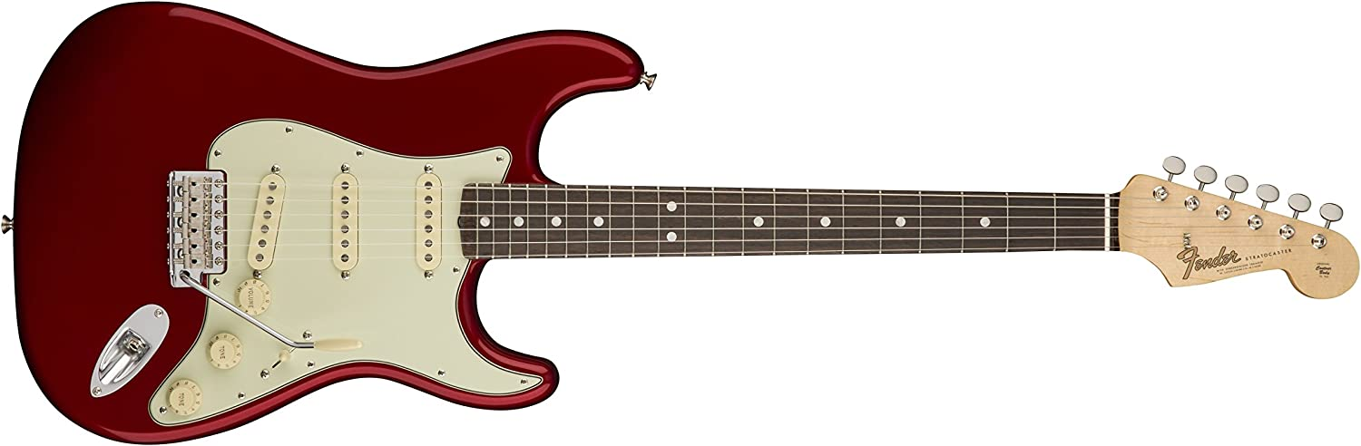 Fender American Original '60s Stratocaster Electric Guitar (Candy Apple Red)