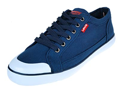 Levi's Venice Beach Low, Herren Sneaker , blau Bleu marine
