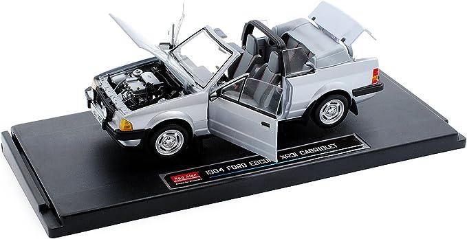 Generation XR3i Cabrio Silber 1980-1985 1//18 Sun Star Modell Auto Ford Escort 3